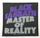 Black Sabbath - 'Master of Reality'  Woven Patch